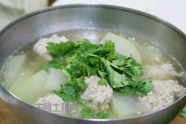 瘦肉丸子汤