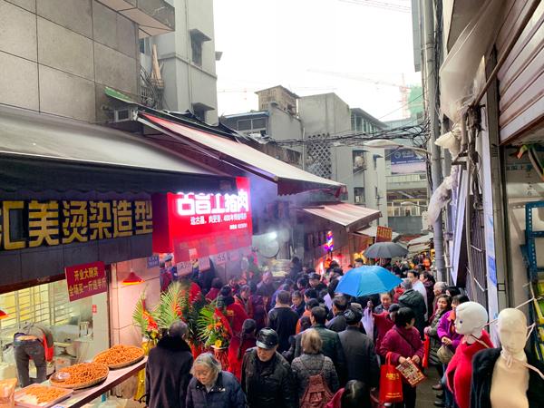 热烈祝贺古昌土猪肉-两路店盛大开业