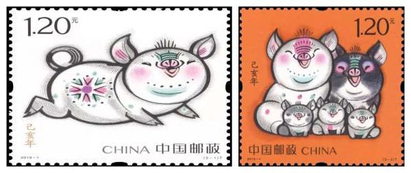 """荣昌猪与邮票再次""""联姻""""——荣昌猪邮票,扩大荣昌猪的文化底蕴"""
