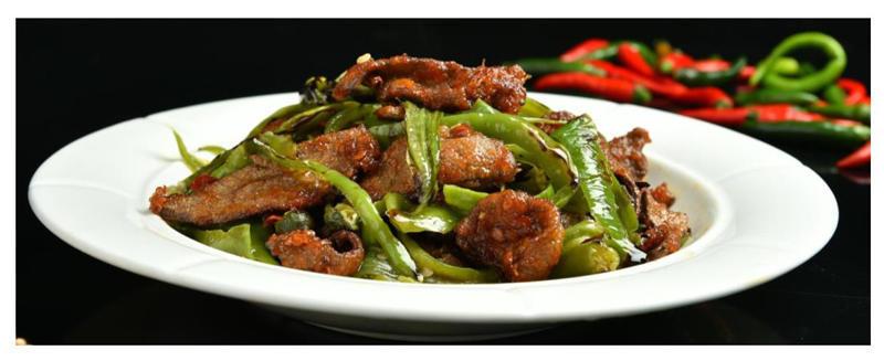「小古美食」-  糊辣鲜香的烧椒猪肝这样做!