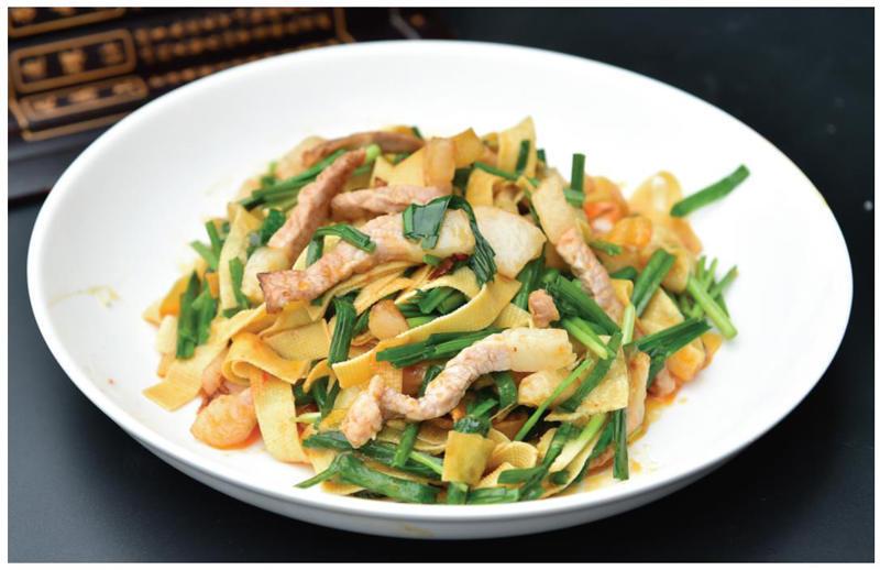 「小古美食」- 营养丰富,肉丝鲜美的家常千张这样做!