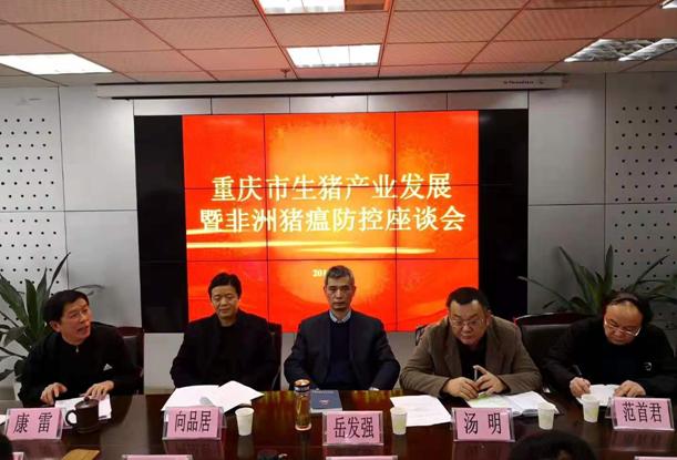 重庆市召开生猪产业发展暨非洲猪瘟防控座谈会