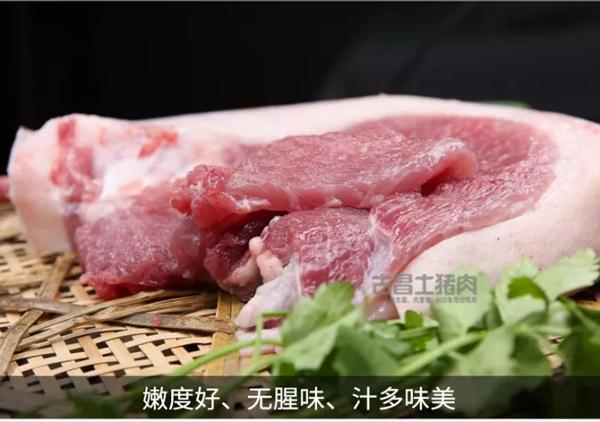为什么土猪肉好吃?五谷杂粮喂养,土猪肉糯香